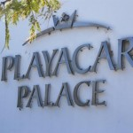 Playacar Palace Sign